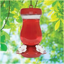 Perky-Pet 24 oz. Glass Top Fill Hummingbird Feeder