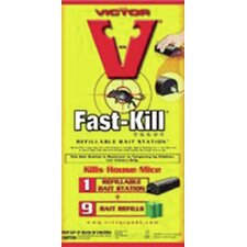 Victor Fast-Kill Refillable Bait Station