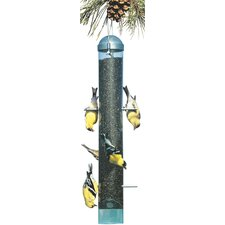 Deluxe Upside Down Thistle Feeder in Green