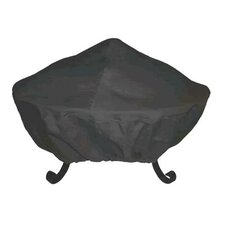 "35"" Tall Screen Vinyl Fire Pit Cover"