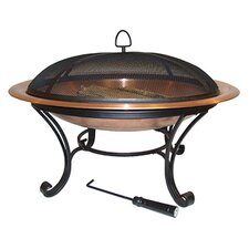 "<strong>Corral</strong> 40"" Round Copper Fire Pit"