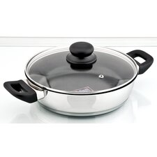 Delta Handled Saute Pan with Lid