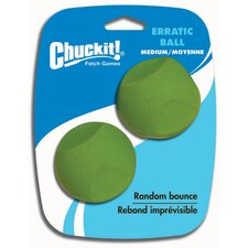<strong>Chuck-It</strong> Erratic Ball Dog Toy