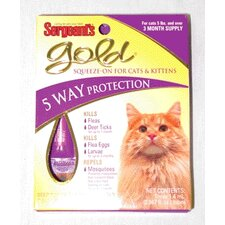 Gold Squeeze-On Cats Shampoo