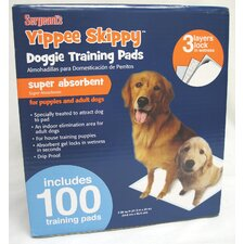 <strong>Sergeant's</strong> Yippie Skippy 100 Training Pads