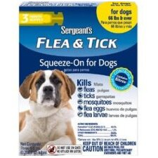 Dog Flea and Tick Squeeze-On