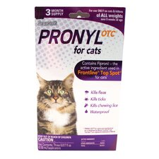 Pronyl OTC Flea and Tick Spot On for Cat