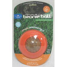 Beanie Dog Ball Toy in Orange