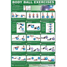 <strong>Productive Fitness Publishing</strong> Ball Poster - Core Body