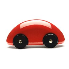 Streamliner Classic Car in Red