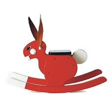 <strong>Playsam</strong> Rocking Rabbit in Red