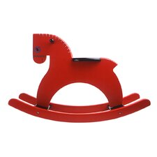 Rocking Horse in Red