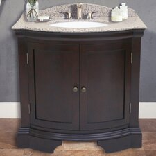 "Cadhia 36"" Vanity Set with Backsplash"