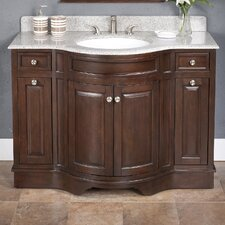 "Upland 48"" Vanity Set with Backsplash"