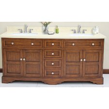 "Sligo 72"" Vanity Set with Backsplash"