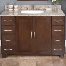 "<strong>Lanza</strong> Chikko 48"" Vanity Set with Backsplash"