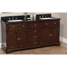 "Luton 72"" Vanity Set with Backsplash"