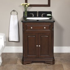 "Luton 26"" Vanity Set with Backsplash"