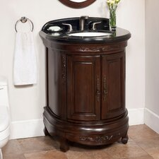 "<strong>Lanza</strong> Moon 28"" Vanity Set with Backsplash"