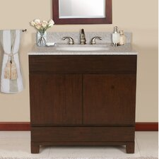 "Oxford 36"" Vanity Set with Backsplash"