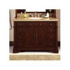 "<strong>Lanza</strong> 48"" Single Bathroom Vanity Set"