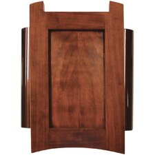 Wired Door Chime with Solid Cherry Mahogany Cover