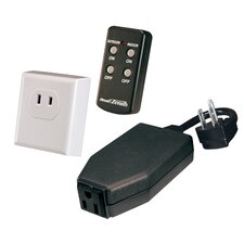 <strong>Heath-Zenith</strong> Basic Solutions Wireless Remote Kit with Indoor and Outdoor Plug-In Devices