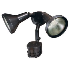 Journeyman Motion Activated Security Light with Shields