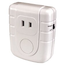 Wireless Command Indoor Lamp Plug-In Converter in White