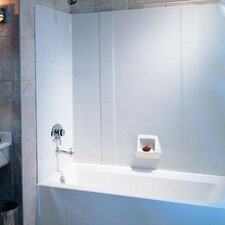 Everyday Essentials Three Panels Tub Wall Kit