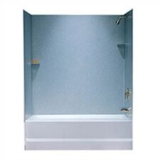 <strong>Swanstone</strong> Metropolitan Three Panel Bath Tub Wall System