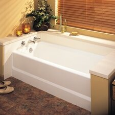 "Everyday Essentials Veritek 60"" x 30"" Bathtub"