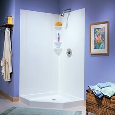 Everyday Essentials 3-Piece Gloss Shower Walls
