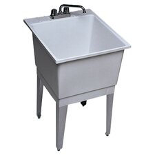 "22"" x 25"" Single Bowl Laundry Sink"