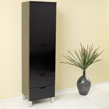 "15.75"" x 58""  Bathroom Linen Cabinet"