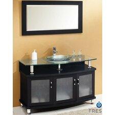 "Classico Contento 48"" Modern Bathroom Vanity Set"
