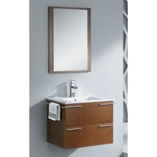"Cielo 24"" Modern Bathroom Vanity Set with Mirror"