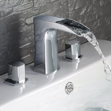 <strong>Fresca</strong> Fortore Double Handle Widespread Vanity Faucet