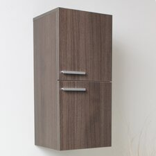 "12.63"" x 27.5"" Bathroom Linen Side Cabinet"