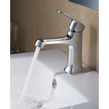 Verdura Single Handle Deck Mount Vanity Faucet