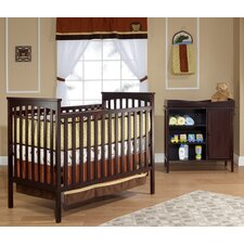 Classic Petite Crib and Changer Set