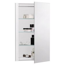 "R3 Series 20"" x 26"" Recessed Beveled Edge Medicine Cabinet"