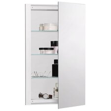 "R3 Series 16"" x 26"" Recessed Beveled Edge Medicine Cabinet"
