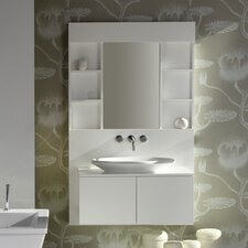 "Tetsu 42"" Wall System Vanity Set with Stone Top"