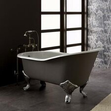 "Epoque Nouveau 67"" x 31"" High Back Slipper Tub"