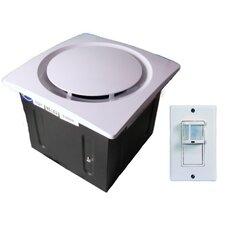 Aero Pure 110 CFM Energy Star Bathroom Fan with Moisture Control Sensor