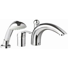 Eurosmart Diverter Roman Tub Faucet with Personal Hand Shower