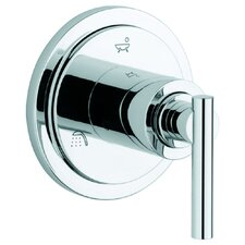 Atrio 5 Port Diverter Trim with Lever Handle