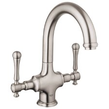 Bridgeford Double Handle Single Hole Bar Faucet with Water Care and Handles Not Included