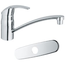 Eurosmart One Handle Centerset Kitchen Faucet